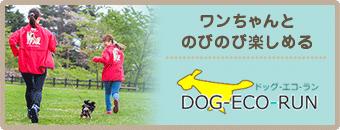 ワンちゃんとのびのび楽しめる DOG ECO RUN